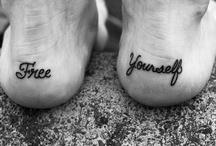 Tattoed Feet, for flip flops of course :) / by Laura Allard