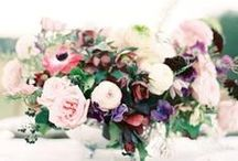 centrepieces / by Living Fresh Flower Studio and School