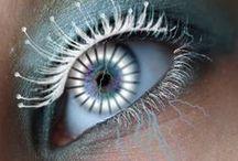 Eye enchantment / #eyes #fancyeyes #eyeballs #windowstothesoul #eyeshaveit / by JulC & LinZ