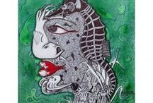 Indian Art / by Exclusively In