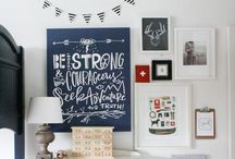 {love} & the kid bedroom / Young boy bedroom / by Kristin Moore