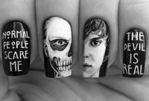 """Nail Art / Nail Art Inspiration! We need MOAR Pins! Follow my profile at http://www.pinterest.com/unmutedbeauty/ and comment """"add me"""" on any of the pins in this board to be invited to the group board! ^_^ Please do not spam irreverent pins or links! Spammers will be removed and blocked!  / by UnmutedBeauty - Fashion & Jewellery"""