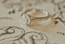 Rings / by The Overwhelmed Bride