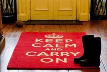 keep calm... / by Emily Beringer