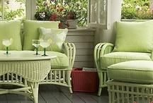 Backyards, porches and patios / by HappyGlitzyGirl