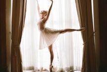 en pointe / ...dancing that is performed on the tips of the toes. / by Annamaria Paralitici