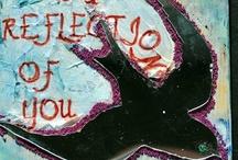 syrinx asylum - Artful Inspiration / my art blog site http://syrinxasylum.wordpress.com/ / by Carolyn Reed Cate