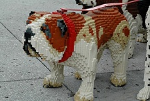 """The Art of the Brick / """"Lego blocks are one of the most beloved toys in the world, playing a role in many a person's childhood. But for some creators, Lego has evolved from toy to art form."""" ~PBS Arts:Off Book-Lego Art / by Brenna Kablick"""