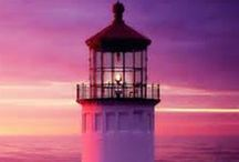 lighthouses / The Guardian Angels of the Sea. / by Nicola Gill
