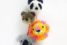 POM POM MAKERS / Inspiration for using Clover's Pom-Pom Makers / by Clover USA