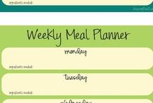Menu planning / Menu planning / by Stephanie Pugh