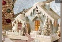 Miniature Glitter Houses / by Lerryn Meza