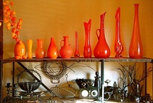 Color-Orange / Everything Orange - from bright to pale hues and shades. / by Rhonda Gillette