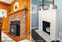 fireplace makeover  / by Diane Carroll