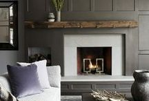 fireplaces and mantle vignettes / by Susan Bartlett