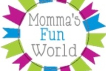 Momma's Fun World / This is a site with all the things we do through hand on play, learning and fun. / by Capturing the Moments by Catherine Collins