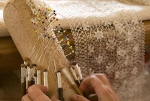 lace in the making / by Hannelore Field