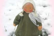 waldorf dolls / by Hannelore Field