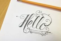 Calligraphy/Typography / by Lauren Haley