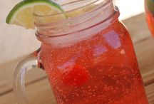 Delicious Drinks / Yummy non-alcoholic drinks and a few boozy ones... / by Deanna Garretson