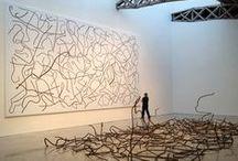 ART & DESIGN / on canvas | sculptures | installations / by Mikhaela Mallari