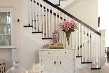Entry Way + Stairway / by Four Generations One Roof
