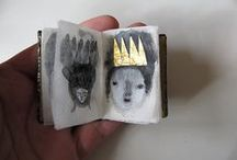 Art- sketchbooks and 3-D  / by The Little Acorn- Bridget Kelly Designs