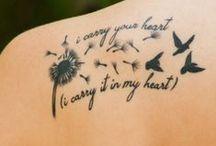 Tattoos • Piercings  / by Amanda DeVore