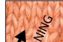 Threads/yarns - stitches, how to & techniques,  / Techniques, stitches and tutos about yarns and threads works  -------- Técnicas, puntos y tutoriales sobre trabajos realizados con hilos, con lanas... / by Lida Tur