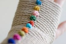 Threads/yarns - gloves & mittens / by Lida Tur