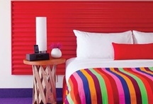 Colorful Hotel Bedrooms / Unique hotel bedrooms. / by ARTnBED