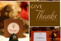 Fall~Thanksgiving / by Sherry Mason