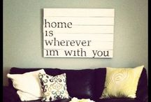home decor / by Cadie Frazier