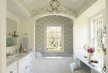bathrooms / by Inspiring Hearts & Homes