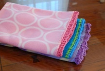 quilting, fabric & knits / by Julie Jarvies