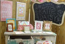 Craft Booth Ideas / by Kimberly Destree