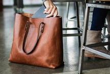 Handbags & Totes / Story Leather bags all available for customization / by StoryLeather.com