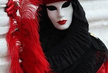 Carnivale/Venetian Masks / Venetian masks / by Nancy Snyder
