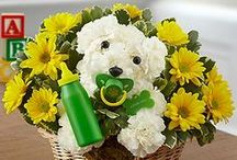 a-DOG-able Dog Flowers / Dog shaped flowers for pet lovers make the perfect gift for any occasion from happy birthday pup-cakes to romantic couple dogs for anniversaries and engagements! / by 1-800-FLOWERS
