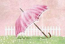 Umbrellas / by Pam Everix
