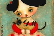 Cat With Friends / by Pam Everix