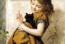 Cats and their humans / by Pam Everix