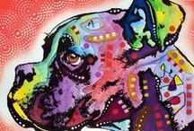 Arty Canines / by Pam Everix