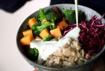 breakfast lunch dinner / Every good looking recipe for meal-type foods! / by Amy Ryan