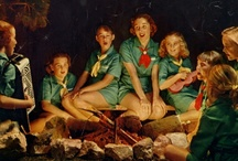 """Girl Scouts / """"Who are we? What we run? We run the world. Who run the world? Girls."""" -Beyonce / by Rachel Malstrom"""