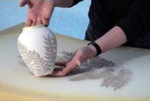 Ceramics - Demos, Techniques, Textures / by Betsy E