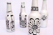 Crafty Ideas - Glass & Ceramic / by Betsy E