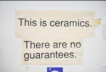 Ceramics - Tools & Studio / by Betsy E
