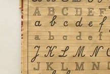 Letters and Numbers / by Jen Bowles