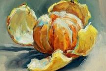 Citrus fruits in art / . / by Joke van Dijk